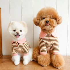 Bixin - 条纹宠物上衣