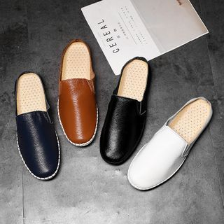 WeWolf - Plain Stitched Sneaker Mules