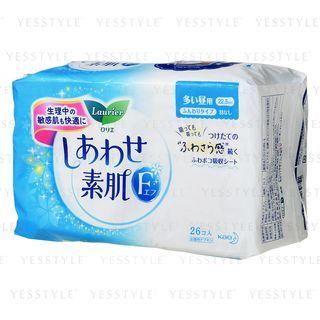 花王 - 乐而雅F 素肌纤薄量多卫生巾 无翼 22.5cm