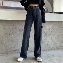 FUNJUAN - Straight-Fit Jeans