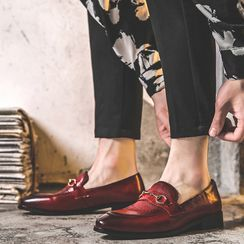 ZIPHO - Faux Leather Loafers