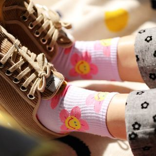 Cottonet - Floral Print Socks
