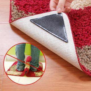 Chiseoul - 四件套裝: 地毯防滑膠墊