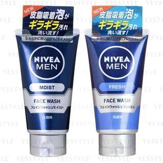 Nivea Japan - Men Face Wash 100g - 2 Types