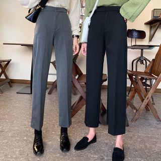 Shopherd - High-Waist Dress Pants