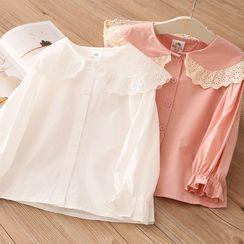 Seashells Kids - Kids Lace Detail Shirt