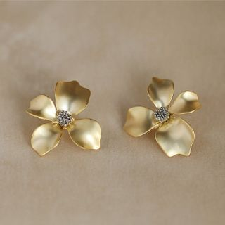 True Glam - Alloy Flower Earring