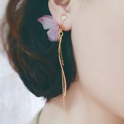 Kulala - Butterfly Hook Earrings