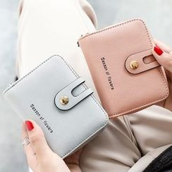 BAUQBAU - Faux Leather Zip Wallet