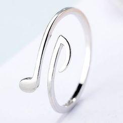 CatSoul - 音符开口戒指