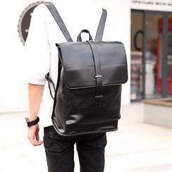 ETONWEAG - Flap  Faux Leather Backpack