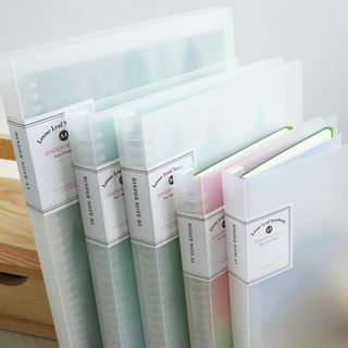 MUNBANG - A4 / A5 / A6 Document Folder (various designs)