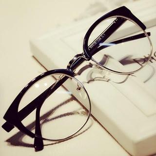 MOL Girl - レトロ丸ぶちメガネ