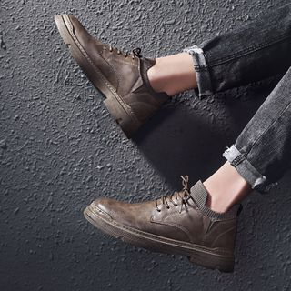 HANO - Lace Up Ankle Boots