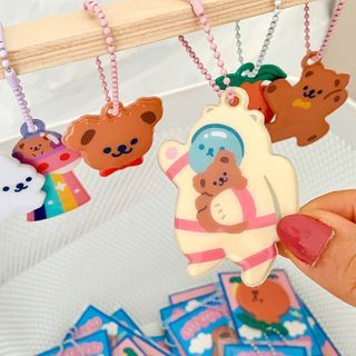 COLPO - PVC Bear Keyring