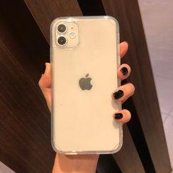 Huella - Clear Phone Case For iPhone SE / 7 / 7 Plus / 8 / 8 Plus / X / XS / XR / XS Max / 11 / 11 Pro / 11 Pro Max