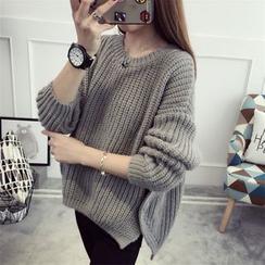 Pecora - 純色厚毛衣