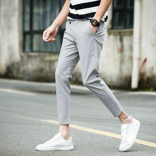 INITI - Crop Slim Fit Pants