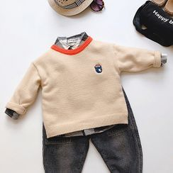 KittyWorld - Kids Embroidered Sweater