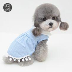 Pettrip - Collared Pet Dress