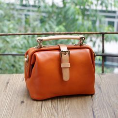 Mango Fish - Genuine Leather Crossbody Bag