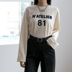 NAIN - Letter Loose-Fit T-Shirt