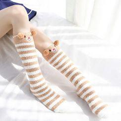 Geisha - 珊瑚絨襪子