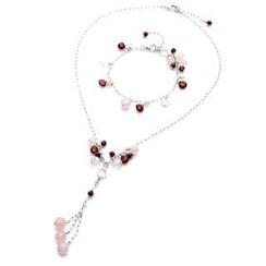 Bellini - Stone of Beauty Necklace and Bracelet set