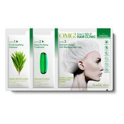 double dare - OMG! 3 in 1 Self Hair Clinic  - 3 Types