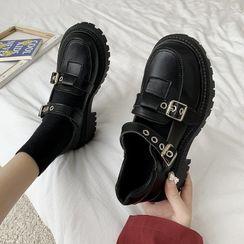 Bolitin - 厚底樂福鞋