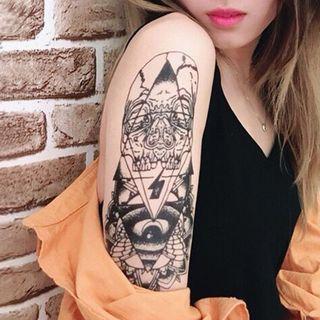 Groovy Tattoo - Waterproof Temporary Tattoo