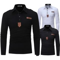 Cowofox - Long-Sleeve Polo Shirt