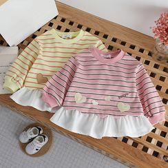 Shaneebabe - Kids Long-Sleeve Striped Dress