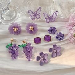 Show Mind - Purple Earring (various designs)