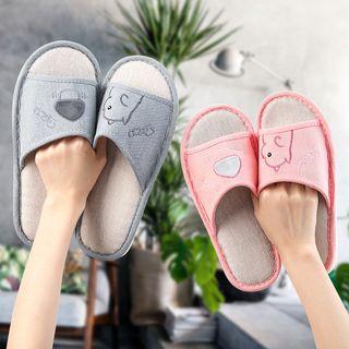 Yulu - Cartoon Print Home Slippers