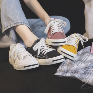 ZDLi - Canvas Lace Up Sneakers