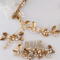 Vivian Design - Wedding Branches Headpiece / Hair Comb / Hair Stick