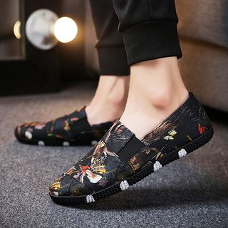 MARTUCCI - 印花帆布輕便鞋