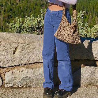BrickBlack - Corduroy Boot Cut Pants