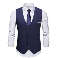 Sheck - Button-Up Vest