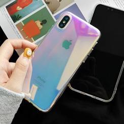 Surono - Iridescent Mobile Case - iPhone 11 Pro Max / 11 Pro / 11 / XS Max / XS / XR / X / 8 / 8 Plus / 7 / 7 Plus / 6S / 6S Plus