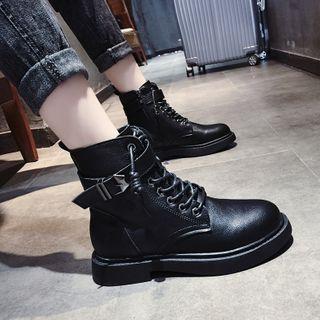 Cymbeline - Lace Up Platform Short Boots
