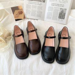 Snowflick - 純色瑪莉珍鞋