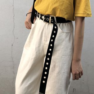 CIMAO - 純色帆布腰帶