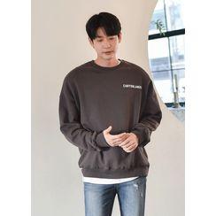 GERIO - Printed Oversized Sweatshirt