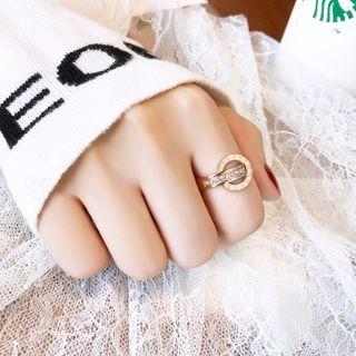Carabel - 不锈钢罗马数字戒指