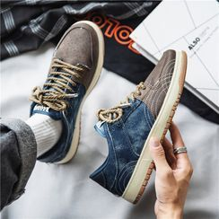 Lazi Boi - Denim Sneakers