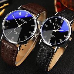 YAZOLE - 仿皮帶式手錶