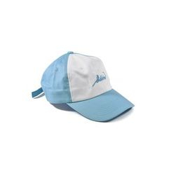 BACKNOW - Embroidered Lettering Colour Block Baseball Cap