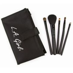 L.A. Girl Cosmetics - Set of 5: Essential Makeup Brush Set